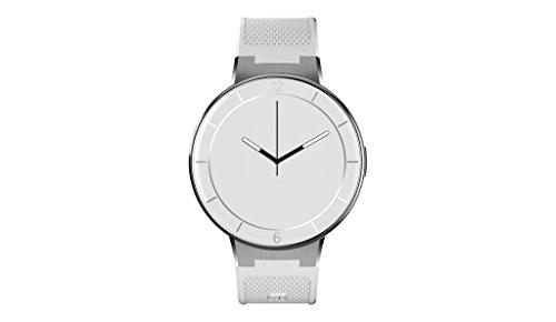 Alcatel Onetouch Watch mit langem Armband weiß