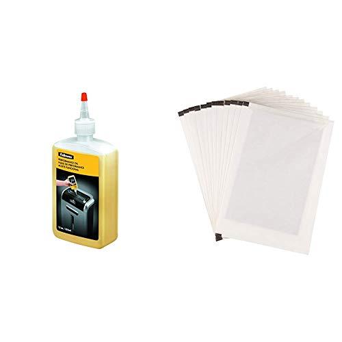 Fellowes - Aceite lubricante para destructoras de papel, 355 ml & Amazon Basics -...