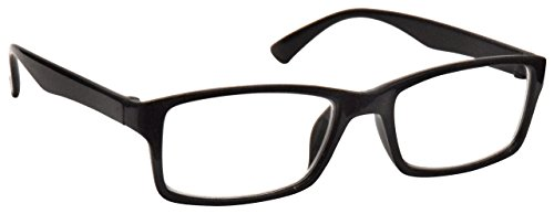 Die Lesebrille Unternehmen Schwarz Kurzsichtig Fernbrille Für Kurzsichtigkeit Herren Frauen UVM092BK -2,50