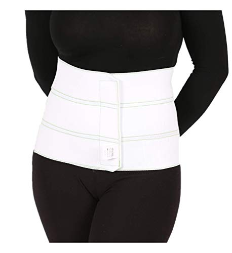 """AltroCare 3 Panel, 9"""" high Postpartum Abdominal Binder, Stretches to fit 30"""" to 45"""""""
