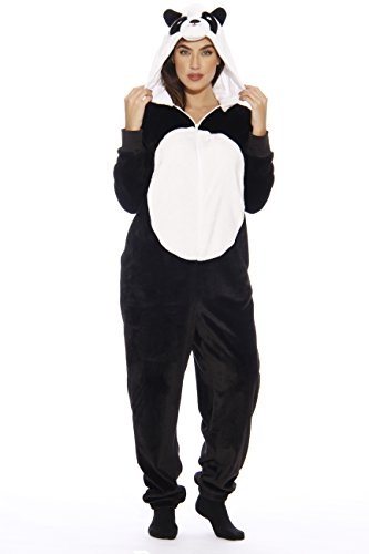L6403-M-Panda #FollowMe Adult Onesie/Pajamas
