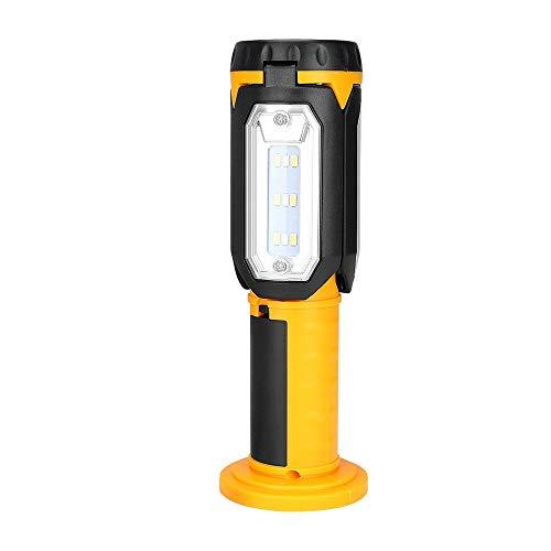 Luz de emergencia Multifuncional incorporada de la batería de la tienda de la tienda de la luz de búsqueda del foco impermeable USB recargable con batería lámpara al aire libre para