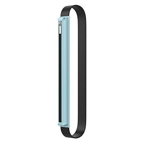"""MoKo Custodia Protettiva Compatibile con iPencil 1/2, Cover in PU Pelle per iPad 8a Gen/iPad Air 4a/iPad PRO 11""""/iPad PRO 12.9"""" 2020, iPad 10.2""""/Air 3 10.5""""/Mini 5 7.9"""" 2019, Cielo Blu"""