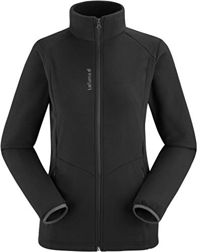Lafuma Access Micro F-Zip W Veste Polaire Femme, Black-Noir, FR (Taille Fabricant : XL)