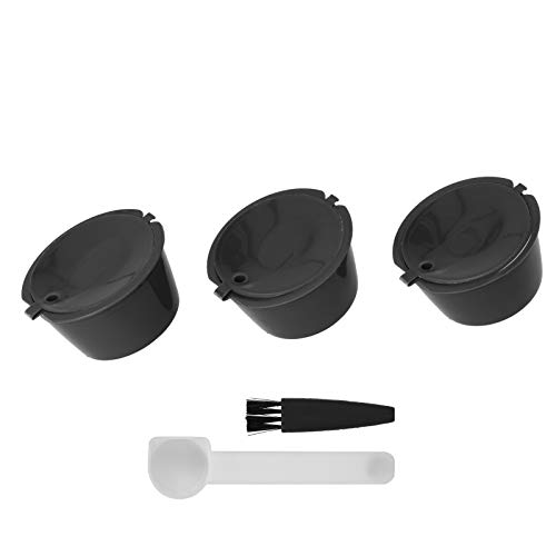 Łatwy w użyciu dobry efekt filtrowania filtr kapsułek kawy akcesoria do ekspresu do kawy kapsułka z kawą narzędzie kawiarniane do ekspresu do kawy Dolce Gusto(black)