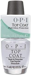 OPI Top Coat Nail Polish Protector - Clear, 15 ml