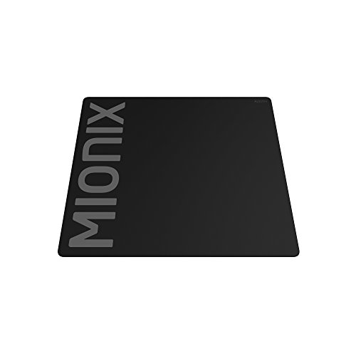 Mionix Alioth Large Gaming Mousepad Stiched (18.1x12.6x0.12 Inch), Speed Surface