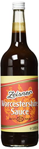 ZEISNER Worcestershire Sauce,  1000 ml