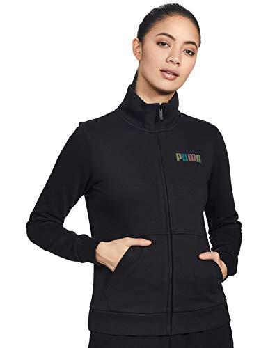 Puma Women's Regular Jacket (58978801 Black_Large)