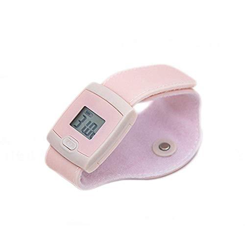 Tlyd Smart Thermomètre Portable sans Fil Bluetooth de Surveillance pour Enfants avec Application de téléphone Portable avec Alarme Haute température pour Enfants (0-7 Ans) Adultes