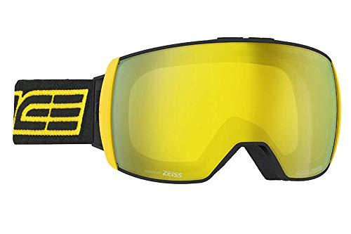 Salice 605DARWF Skibrille SR + Sonar Nero-Gial Unisex Erwachsene, Einheitsgröße