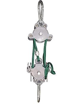 Locking Hoist 5 1 Bullseye Outdoors Locking Pulley Hoist Locks at Hoist no Need to tie Off.