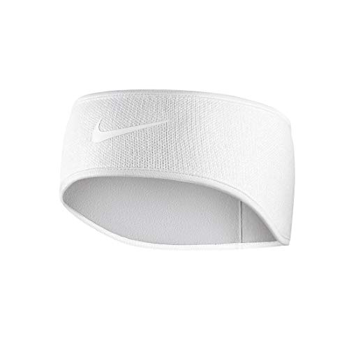 Nike Unisex – Erwachsene Knit Stirnband, White/vast Grey, One Size
