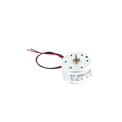 baratos y buenos Cilindro eléctrico DC1.5-6.5 V 1700-7300 rpm del motor del alto esfuerzo de torsión del mini generador calidad