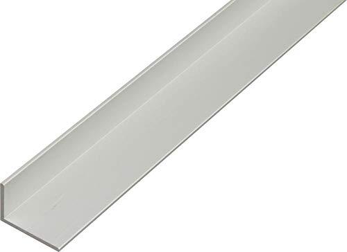 GAH.ALBERTS Winkelprofil 10 x 20 x 2 mm, aluminium 2 m 7472, silber eloxiert, 47472 0