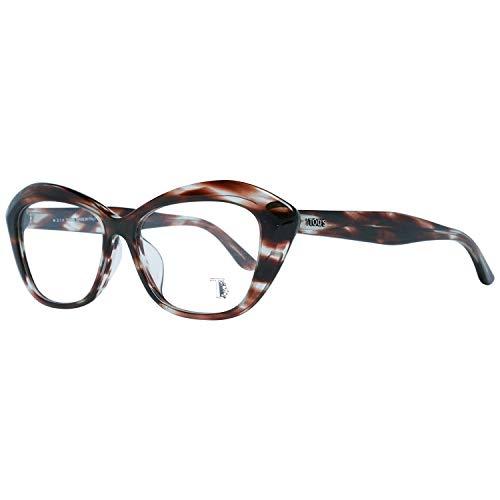 Tods Brille Damen Braun Lese-Brillen Brillen-Gestell Brillen-Fassungen