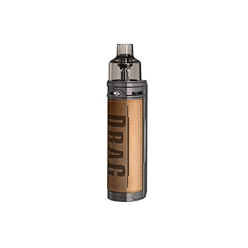 Nicotine free, liquid free, VOOPOOO DRAG X Mod Pod Kit 80W con 4,5 ml di ricambio DRAG X Pod, alimentatore 18650 batteria elettronica esterna Vape Mod (senza cella 18650)