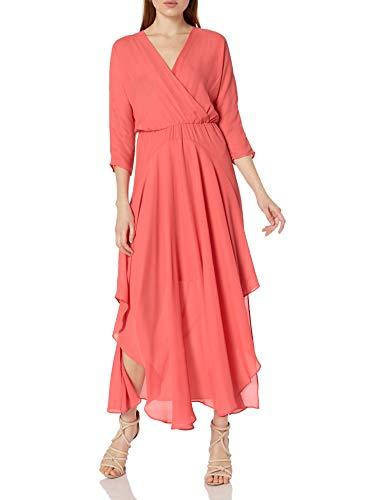 CATHERINE CATHERINE MALANDRINO Women's Larissa Dress, Watermelon Julep, 4