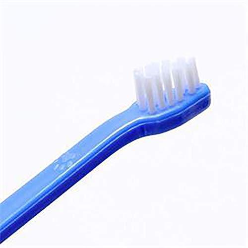 ZISITA Cepillo de dientes para perros Cat Pet Dental Grooming Lavado Cepillo de dientes para mascotas Herramientas de limpieza de dientes