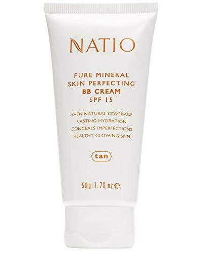 Natio Pure Mineral Skin Perfecting BB Cream SPF 15 Tan,...
