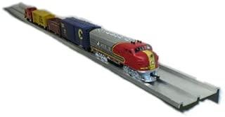 Model Railroad HO Scale Train Display Shelf - SET OF 2 Shelves
