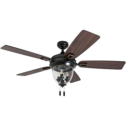 "Honeywell Ceiling Fans 50615-01 Glencrest 52"" Indoor & Outdoor,..."