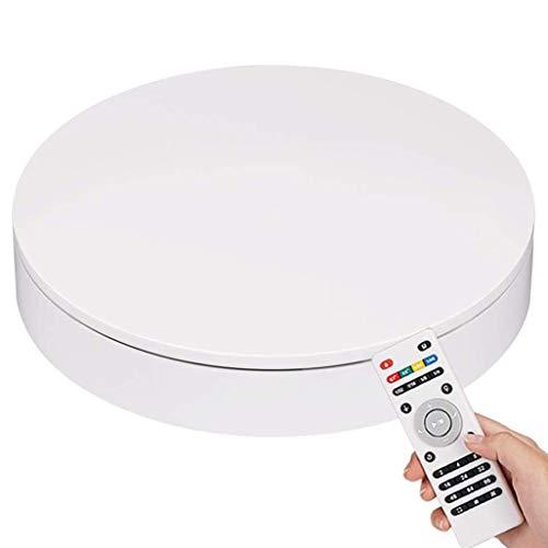 LCF Elektrische platenspeler 360 graden fotografie-tentoonstellingsstand afstandsbediening hoek, snelheid, richting, 20 cm diameter voor productschieten