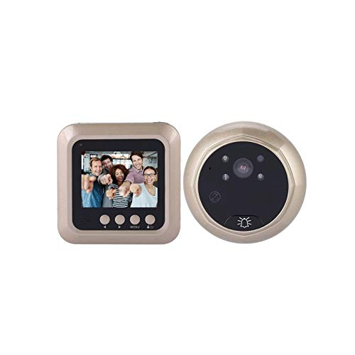 1080p Timbre de Puerta eléctrico Inteligente Mirilla Digital inalámbrica Visor de Puerta...