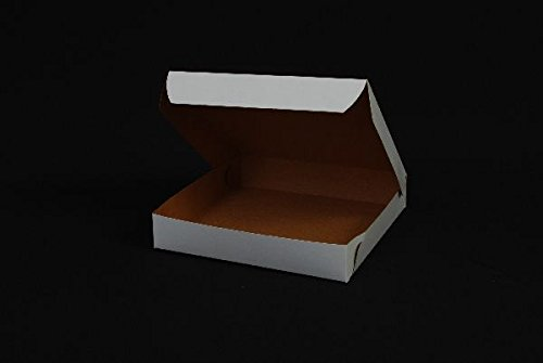 Southern Champion 1401 Paperboard Pizza Box White, 8' X 8' X 1.5' 100 per case by Buying in Bulk