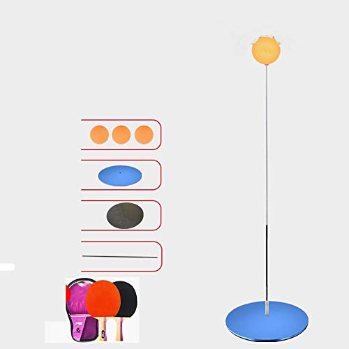 Ping-Pong-Paddel Tischtennis-Trainingsgerät selbstlernendes Artefakt Heimkindernetz rot elastisch flexiblerSchaftsaugerSoldat Anti-Myopie-Plastikboden + Holzschläger Tischtennis-Paddel