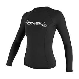 O'Neill Women's Basic Skins Upf 50+ Long Sleeve Rash...