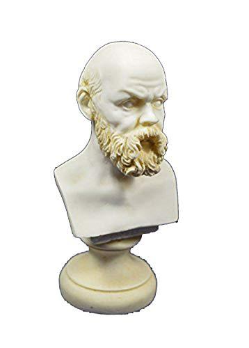 Sócrates Escultura Estatua Busto Fundador Western