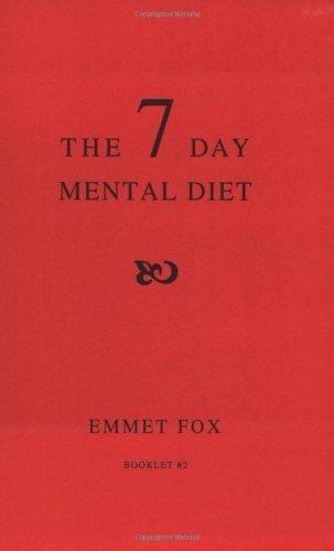 the seven day mental diet emmet fox