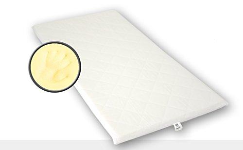 Best For You Topper Visco Viscoelastische Auflage Kern 4 cm. + versteppter Bezug 1 cm mit TÜV Zertifikat aus Policotton für die Füllung! Viele Größen zur Auswahl ab 60x120 cm bis 200x200 cm (90x180)