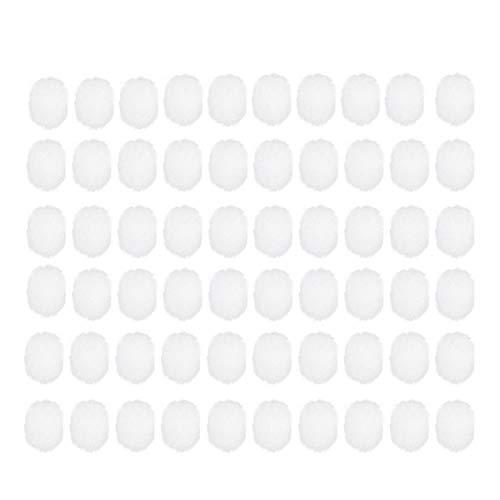 persiverney-AT Esponja de filtro 200PCS Bebé Aspirador nasal Filtro Algodón Dispositivo de succión nasal Accesorios Filtro desechable Limpiador de nariz de algodón higiénico y seguro fácil de valuable