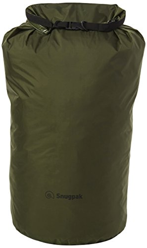 Snugpak Dri-Sak, Waterproof Storage Bag with Roll and Clip Seal, XX-Large, Olive