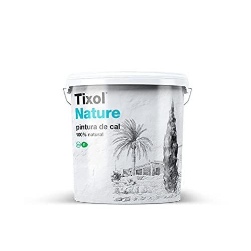 Tixol Pintura de Cal Natural Ecológica fungicida, bactericida y antialérgica (4L)