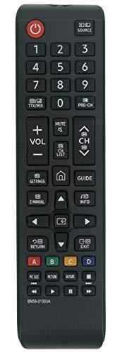 ALLIMITY BN59-01303A Fernbedienung Ersetzt für Samsung UHD 4K TV UE40NU7125 UE43NU7090 UE49NU7105 UE55NU7093 UE55NU7096 UE55NU7305 UE65NU6025 UE65NU7305 UE75NU7175