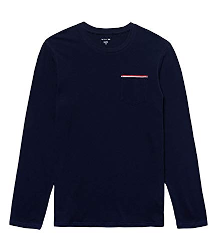 Lacoste Langarm Shirt Dunkelblau, L