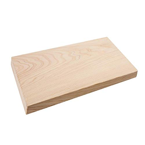 Hinoki Cypress Solid Wood Cutting Board, No Knots (17' x 9')
