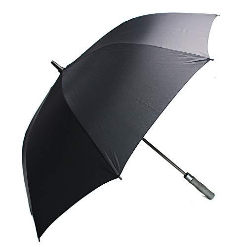 YOUYOUCOLORFUL Paraguas personalizado – Diseño Logo 100 piezas de paraguas de golf grande 157,5 cm resistente al viento – Apertura automática – Portátil – para hombres y mujeres