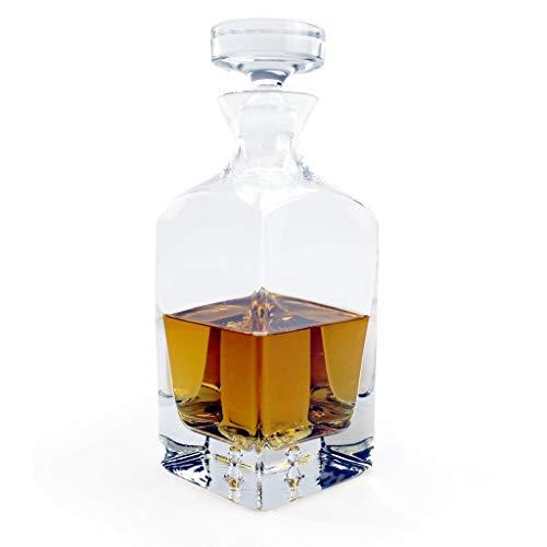 A.P. Donovan - Whisky caraffa/Decanter - con Serratura - per momenti di Piacere - Bottiglia di Vetro - capacità: Circa 750ml - Minimal
