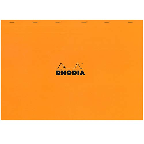 Rhodia Notepad, No38 A3+, Squared - Orange