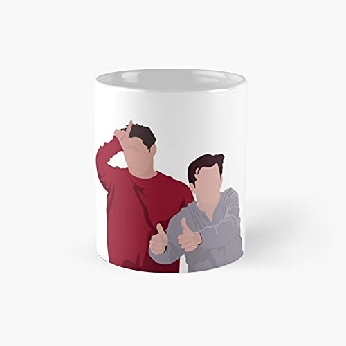 Joey And Chandler Classic Mug Best Gift Funny Coffee Mugs 11 Oz