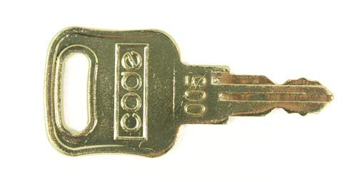 Replacement Regular Key for DisplayGifts' cabinets and Shadow Boxes - HWKey1