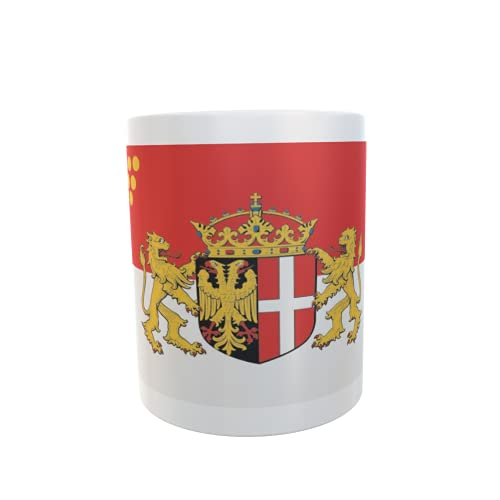 U24 Tasse Kaffeebecher Mug Cup Flagge Neuss