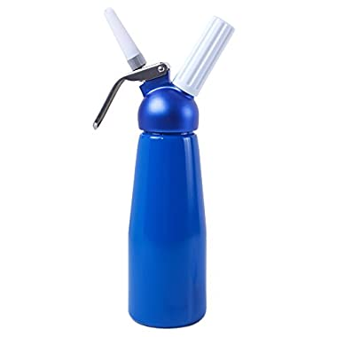 Impeccable Culinary Objects (ICO) Professional Aluminum Cream Whipper, Blue