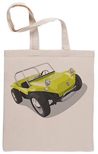 Manx Strand Buggy Einkaufstasche Beige Shopping Bag Beige