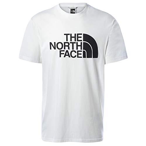 The North Face T-Shirt a Maniche Corte Uomo Half Dome, Bianco, L
