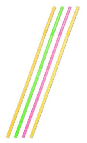 Folat Jumbo Rietjes 44cm Neon Assorti /25